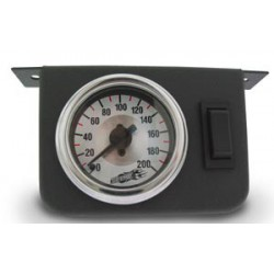Dual Needle Gauge Panel with two switches- 200 PSI