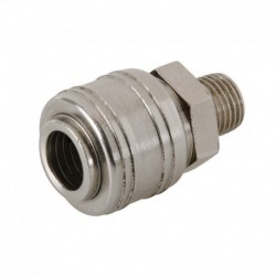 Euro Air Line Male Thread Quick Coupler