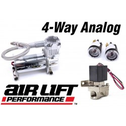 Air Lift 4-way Analog Air Management System