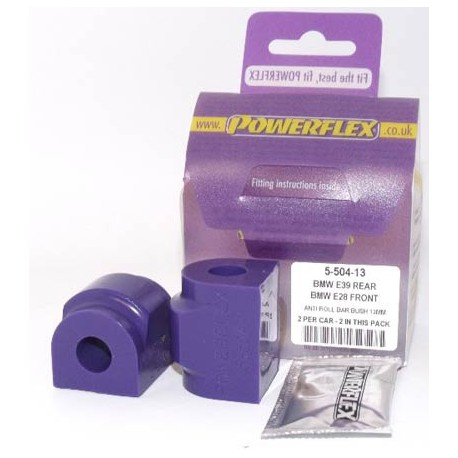 BMW E39 5 Series (1996 - 2004) Powerflex Rear Anti Roll Bar Mounting Bush 13mm - 13mm