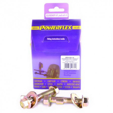 BMW E53 X5 (1999-2006) Powerflex PowerAlign Camber Bolt Kit (16mm) - 16mm