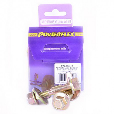 Chevrolet Lacetti (2003 - 2010) Powerflex PowerAlign Camber Bolt Kit (12mm) - 12mm