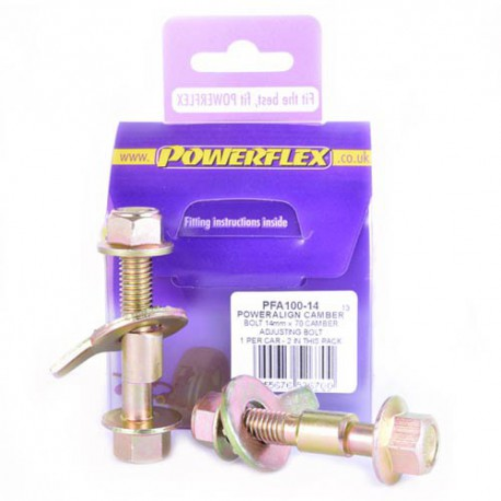 Chrysler Voyager / Grand Voyager (1996 - 2011) Powerflex PowerAlign Camber Bolt Kit (14mm)  - 14mm