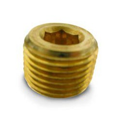"Pipe Plugs- 3/8"" NPT (countersunk)"