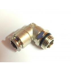 "Elbow- Male 3/8"" NPT x 3/8"" Tube"