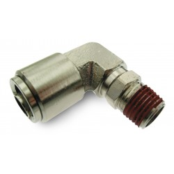 "Elbow- Male 1/4"" NPT x 1/2"" Tube"