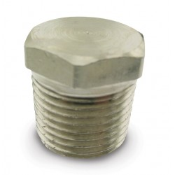 "Pipe Plugs- 3/8"" NPT (hex head)"
