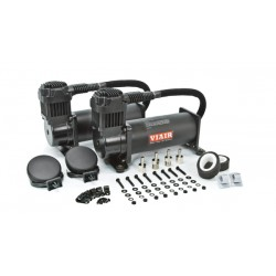 Viair 444C Dual Pack Compressor - Stealth Black - 200 PSI